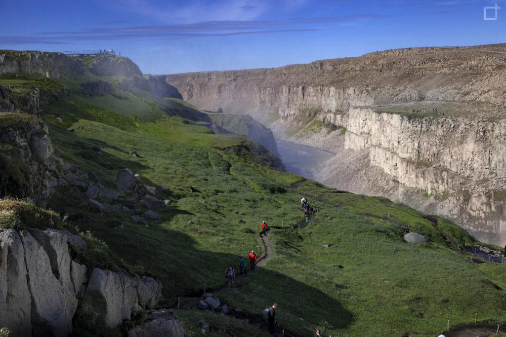 Canyon Islanda Fiume Jokulsa a Fjollum