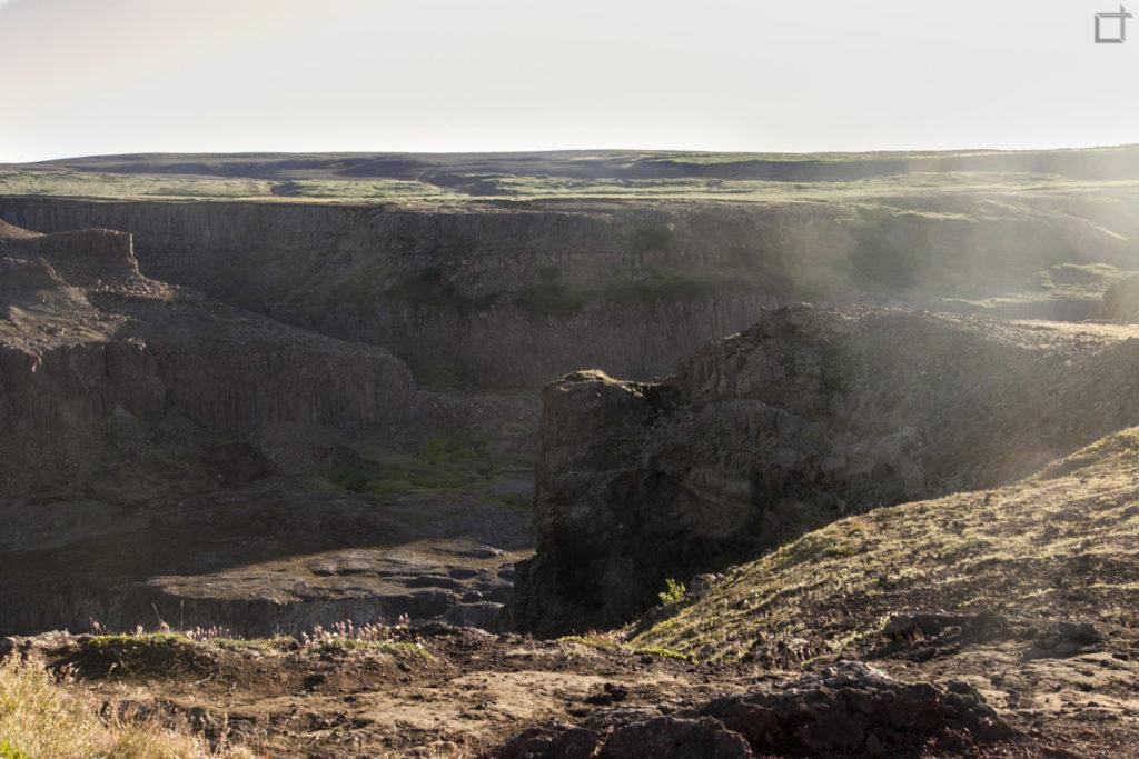 Canyon Jokulsargljufur Nord Islanda - Cascata di Hafragilsfoss