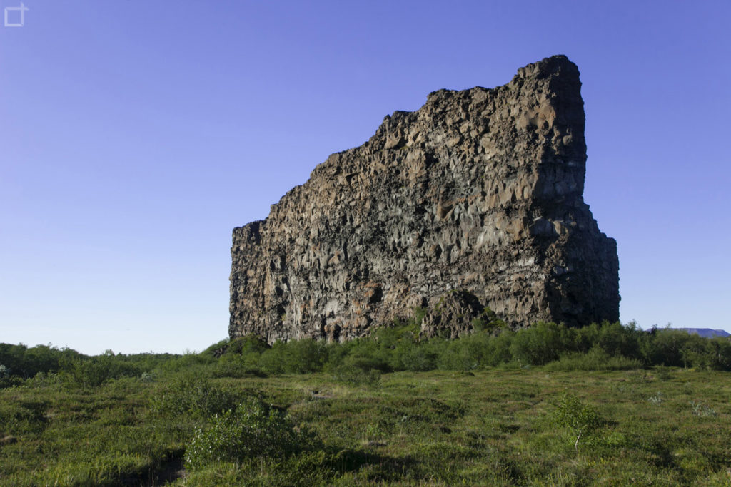 Eyjan Grande Masso Nord Islanda - Asbyrgi
