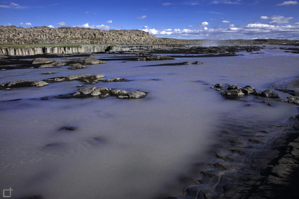 Fiume Jokulsa a Fjollum Islanda