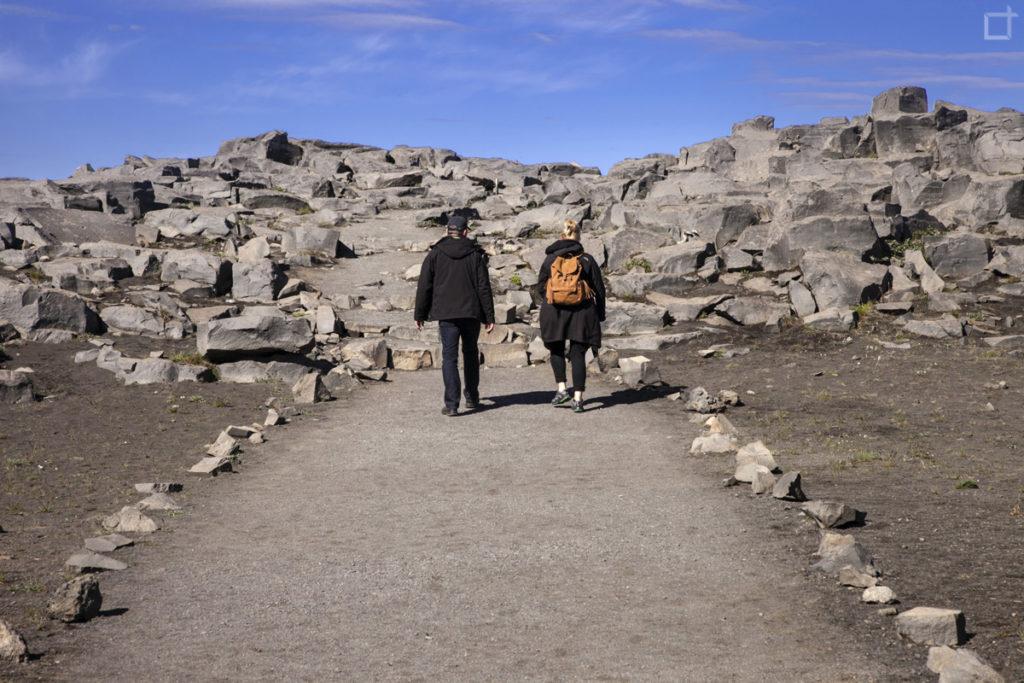Passeggiata Canyon Jokulsargljufur