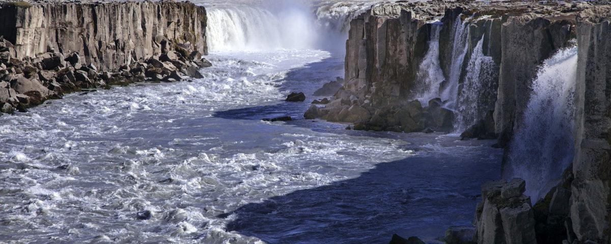Selfoss Cascata Origine Lavica