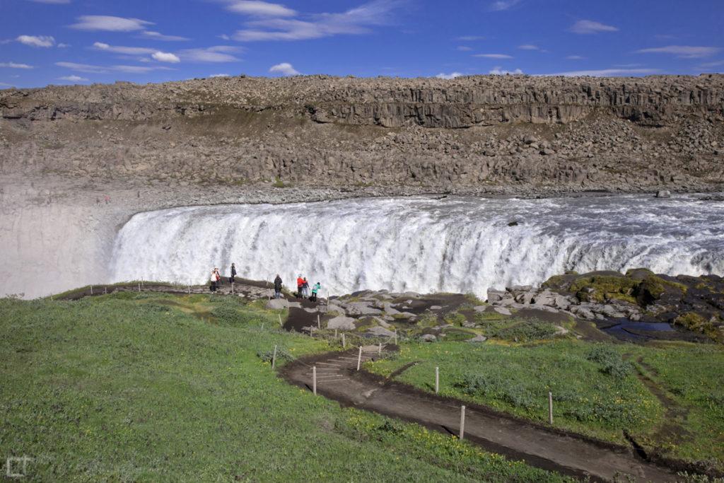 Sentiero Dettifoss cascata