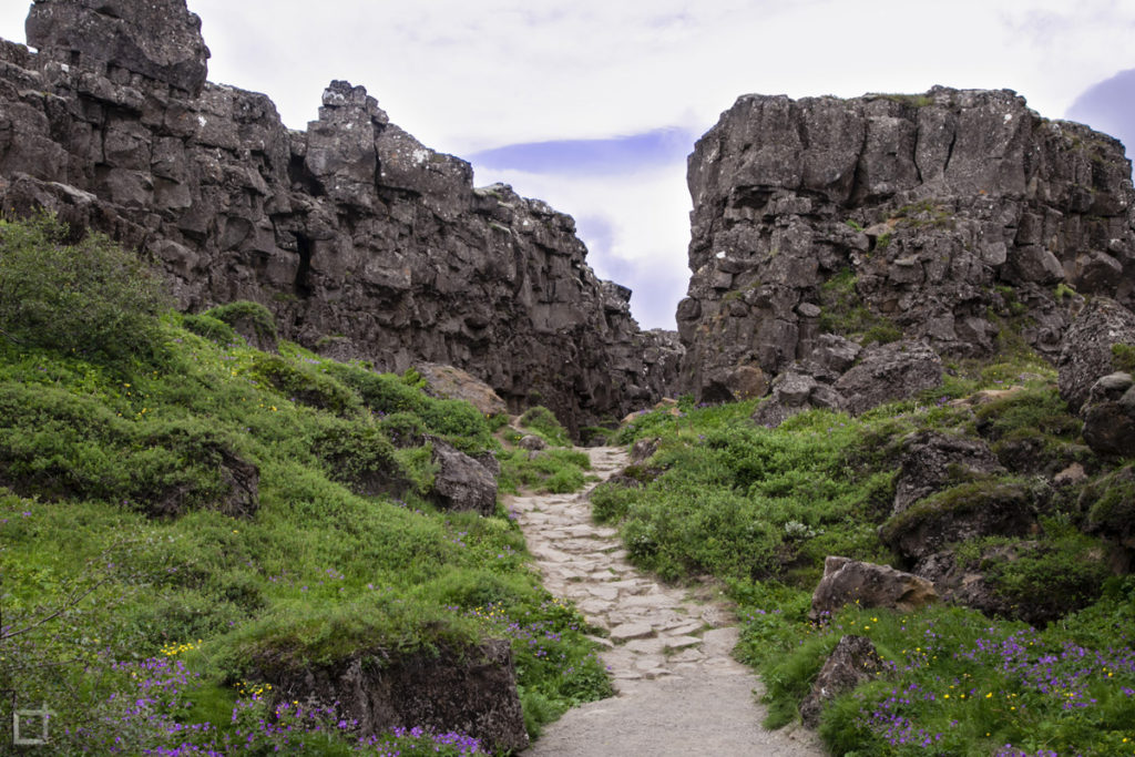 Þingvellir Percorso tra le Faglie della Terra UNESCO