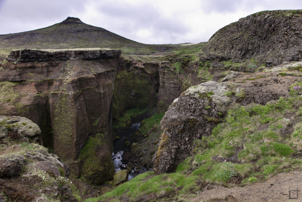 Canyon Islanda Sentiero Laugavegur