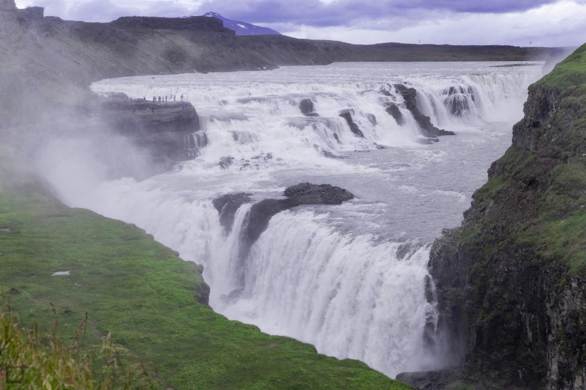 Cascata Gullfoss Islanda Circolo d'Oro