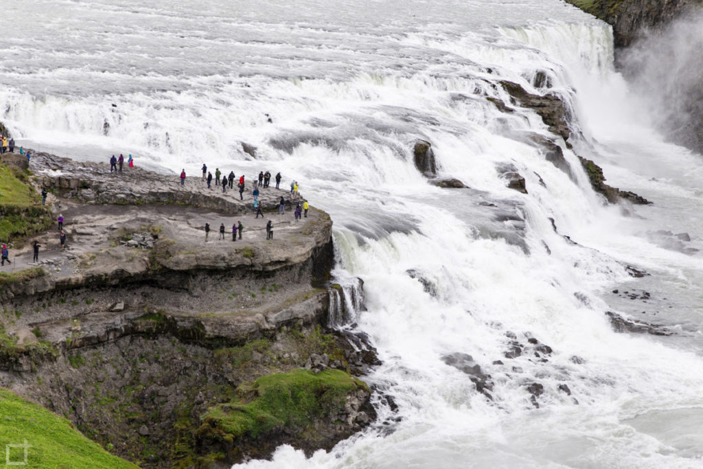 Cascata Gullfoss salto da 11 metri