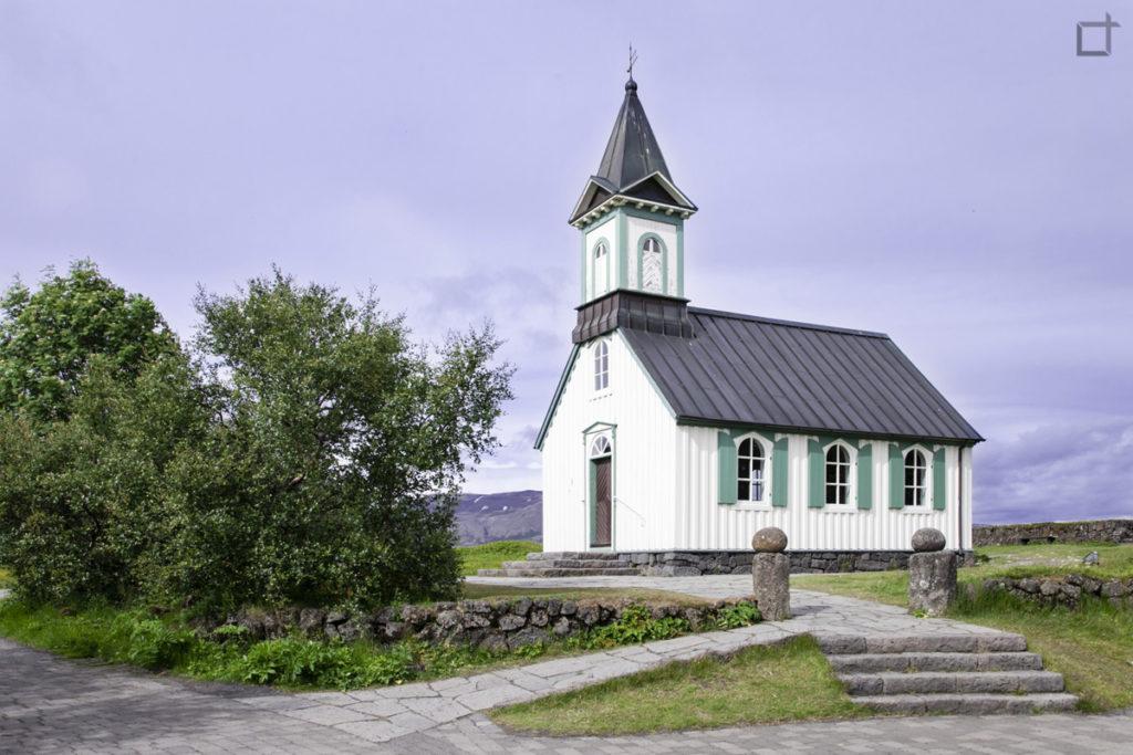 Chiesa in legno Thingvallakirkja UNESCO