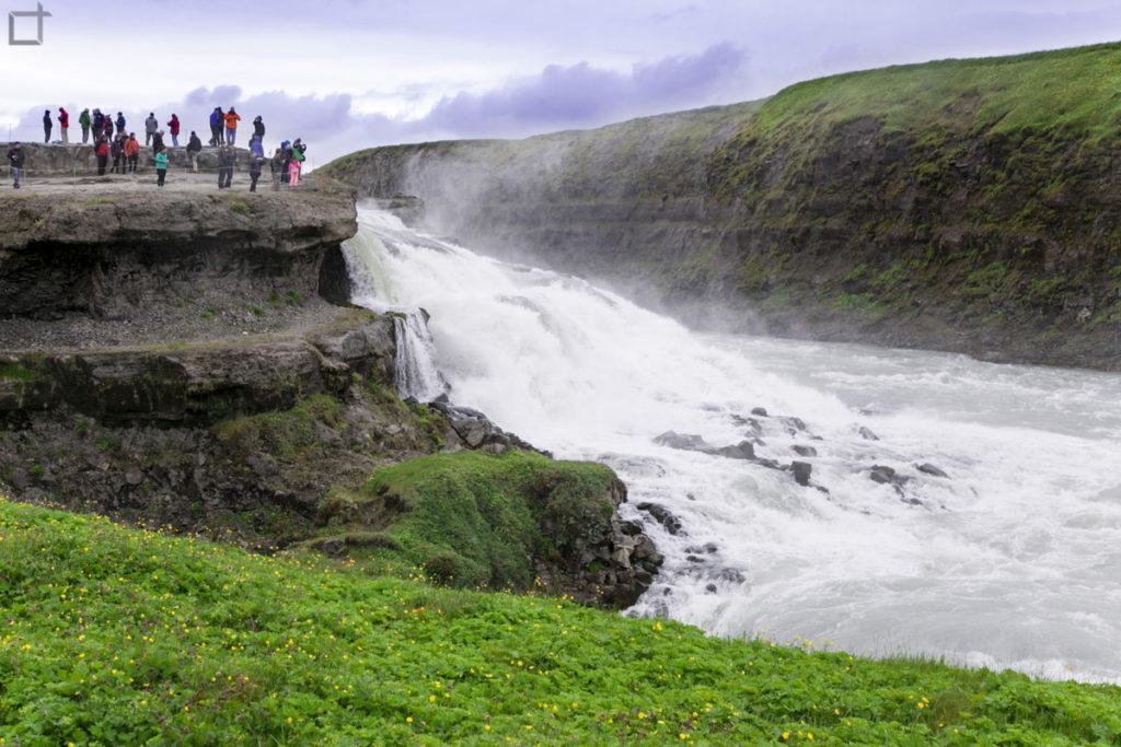 Circolo d'oro Islanda e la Cascata
