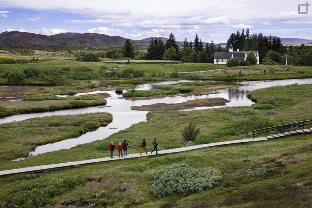 Fiume Oxara e Lago Thingvallavatn Thingvellir