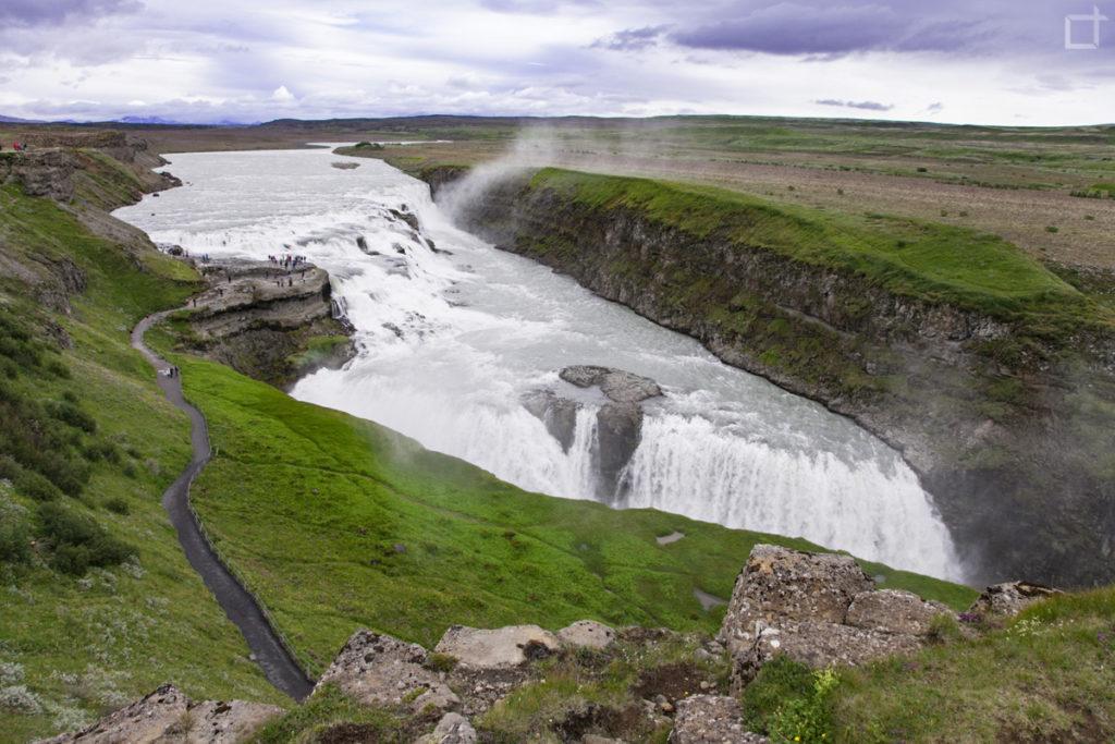 Gullfoss la cascata d'oro Islanda