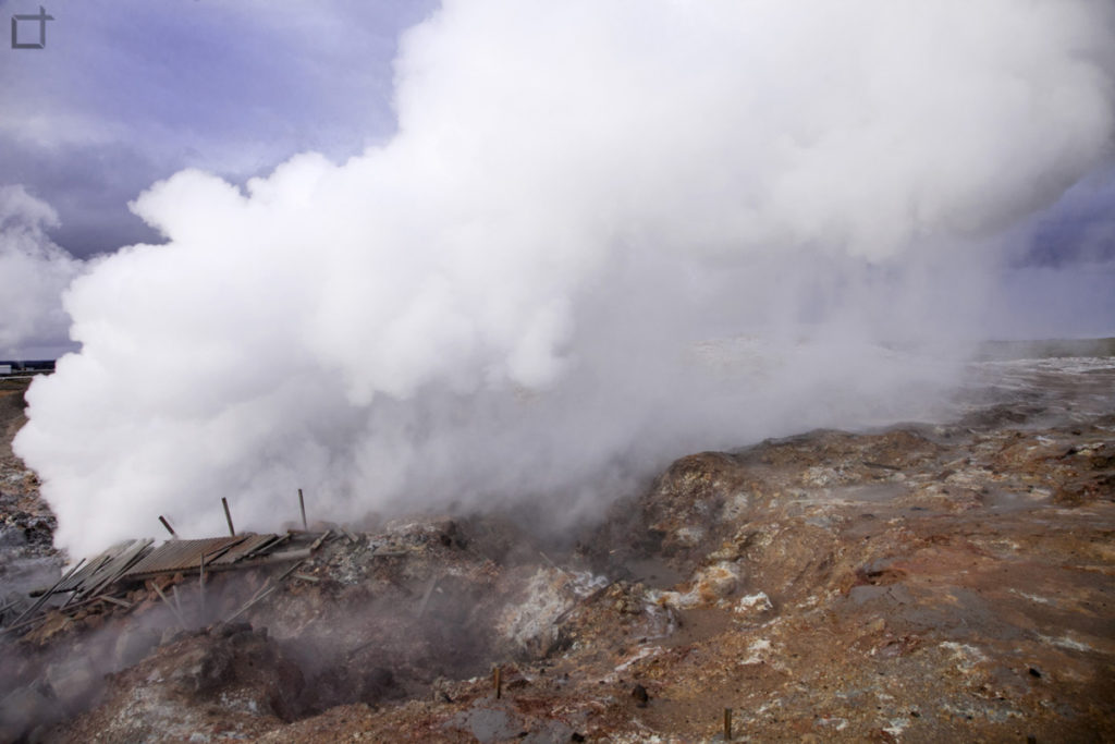 Gunna il fantasma dentro l eruzione di Gunnuhver
