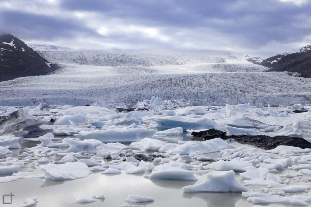 Iceberg a Fjallsarlon