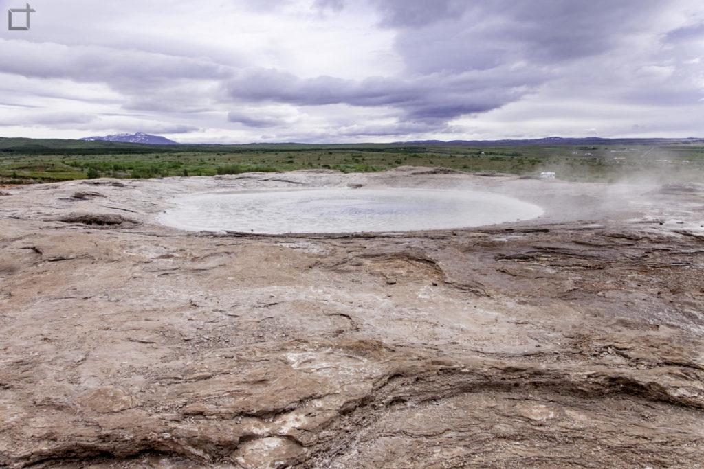 Il grande cratere di Geysir