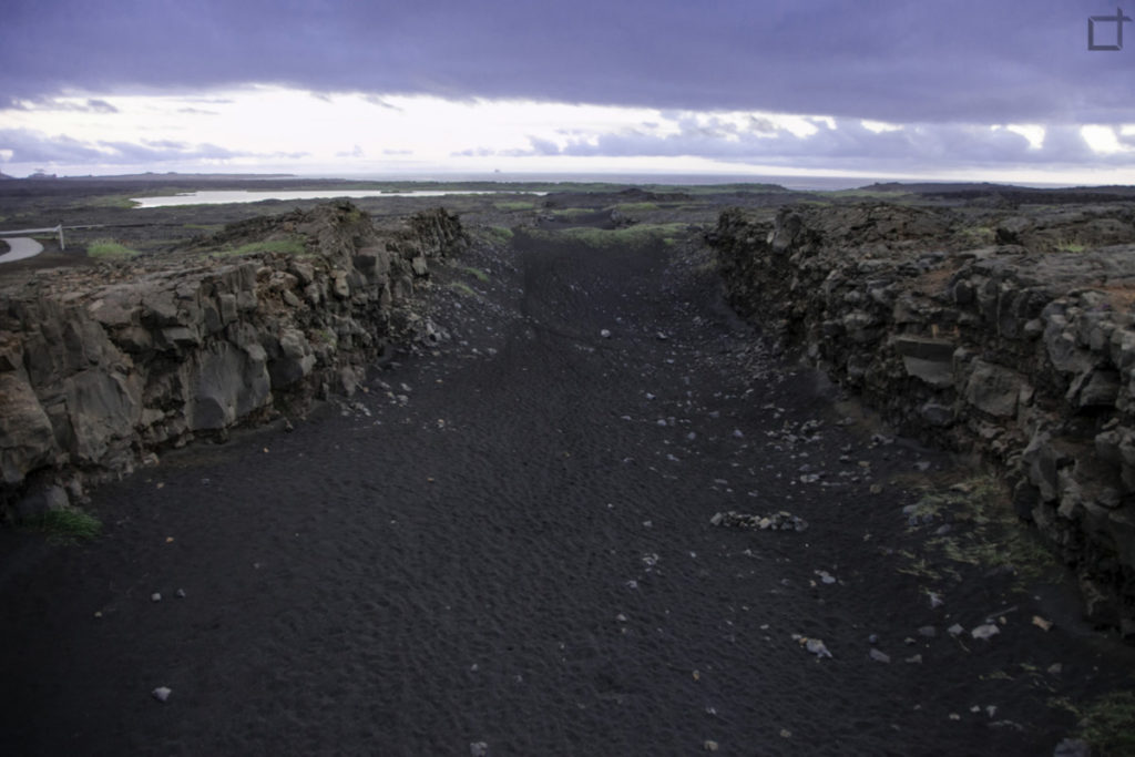 Incontro di Placca tettonica Americana con Placca Tettonica Euroasiatica - Islanda