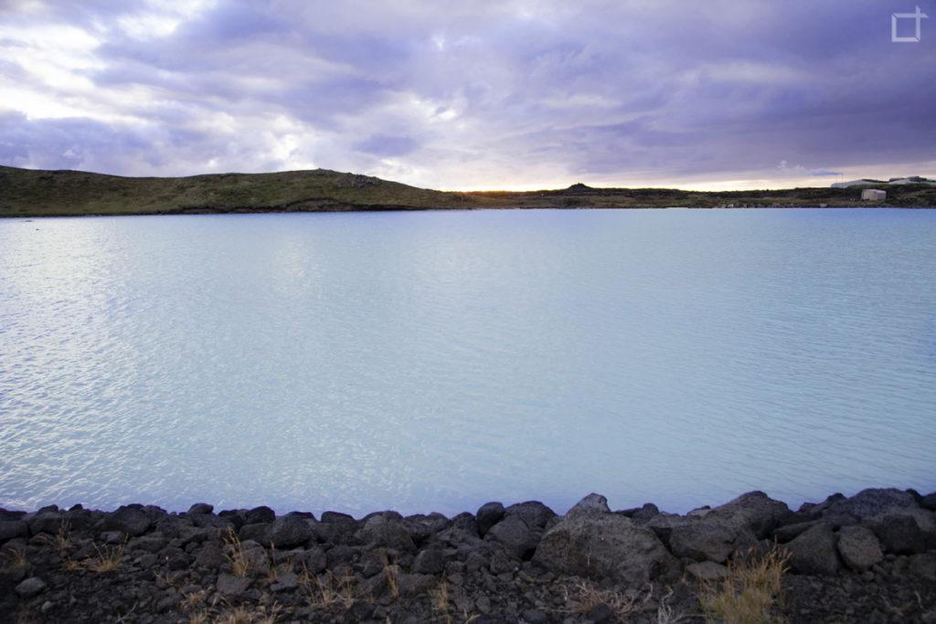 Lago di Gunnuhver - Azzurro Silicio