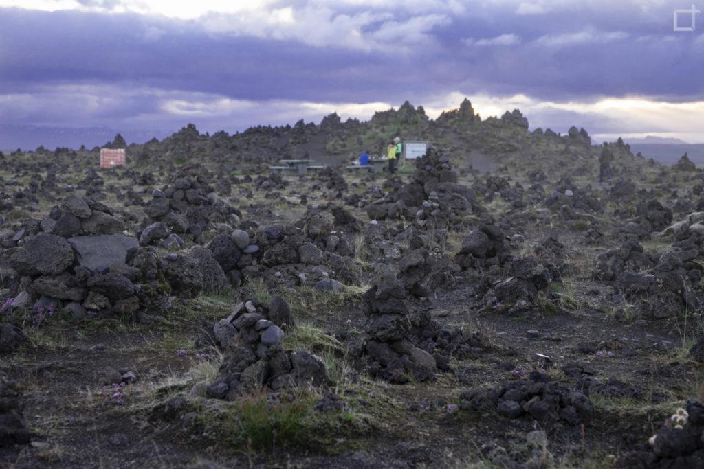 Laufskalavarda Islanda Campo di Sassi