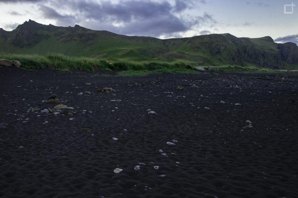Monte Reynisfjall Islanda