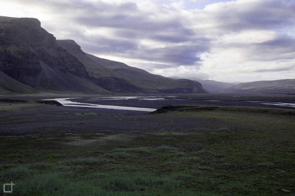 Monti e Lava Islanda Panorama