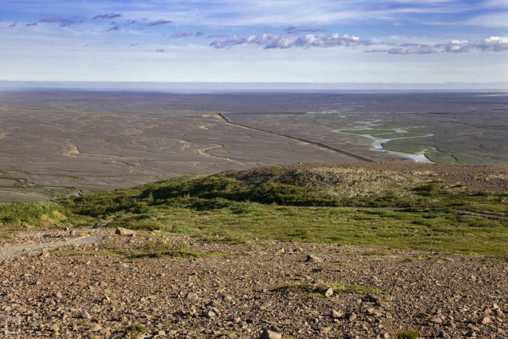 Panorama su Islanda Sud