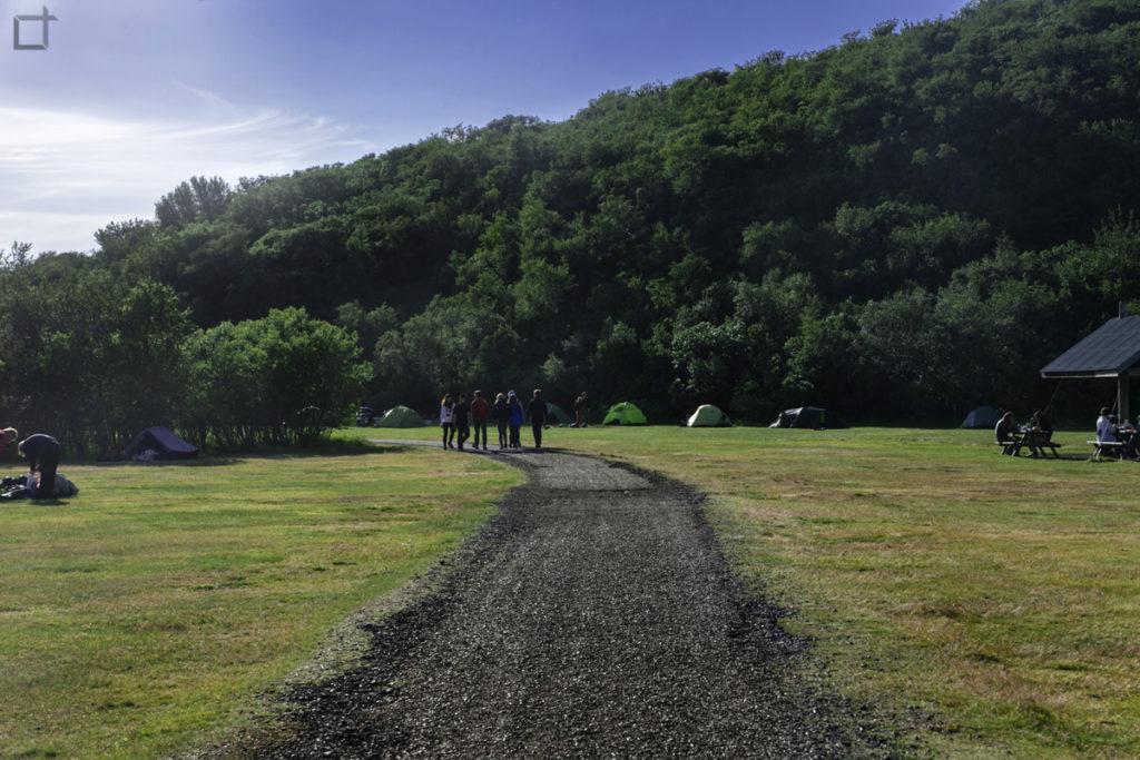 Parco Skaftafell Islanda Campeggio