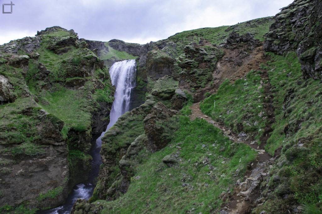 Percorso pericoloso Trekking Islanda