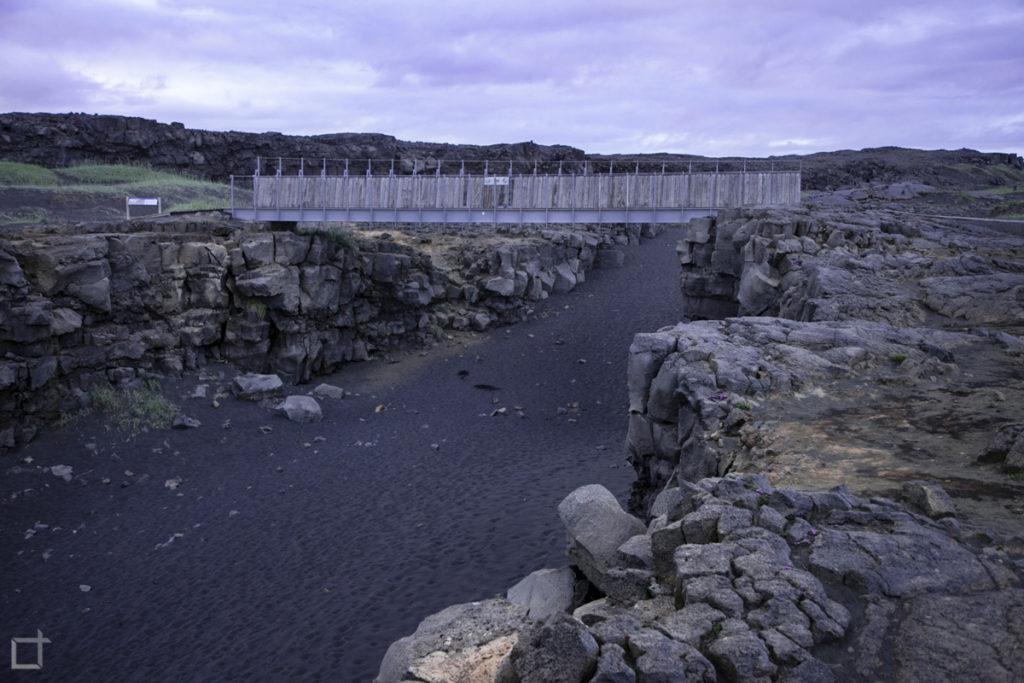 Ponte tra due Continenti Islanda