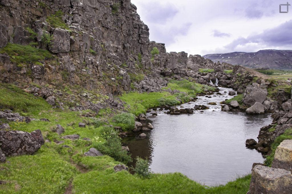 Pozza dove venivano affogati i condannati Thingvellir