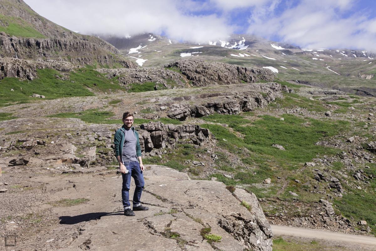 Ragazzo Natura Islanda