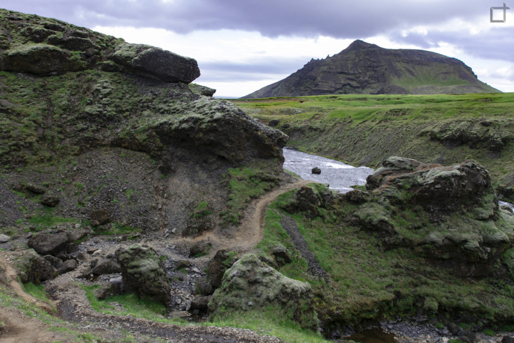 Roccia e Vulcani Percorso Skogafoss