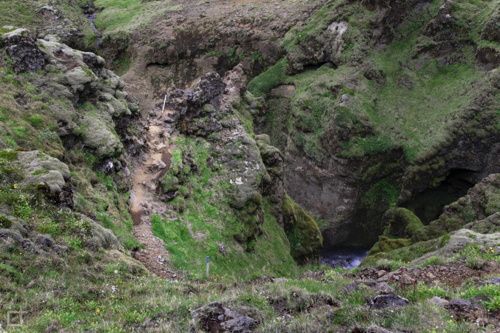 Roccia e percorsi pericolosi