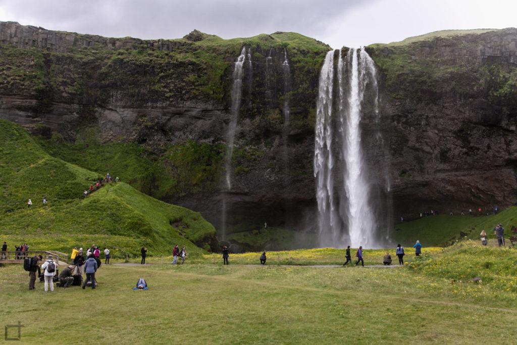 Seljalandsfoss Cascata Sud Islanda