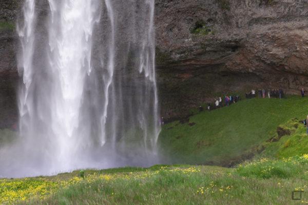 Seljalandsfoss Sentiero Dietro la Cascata