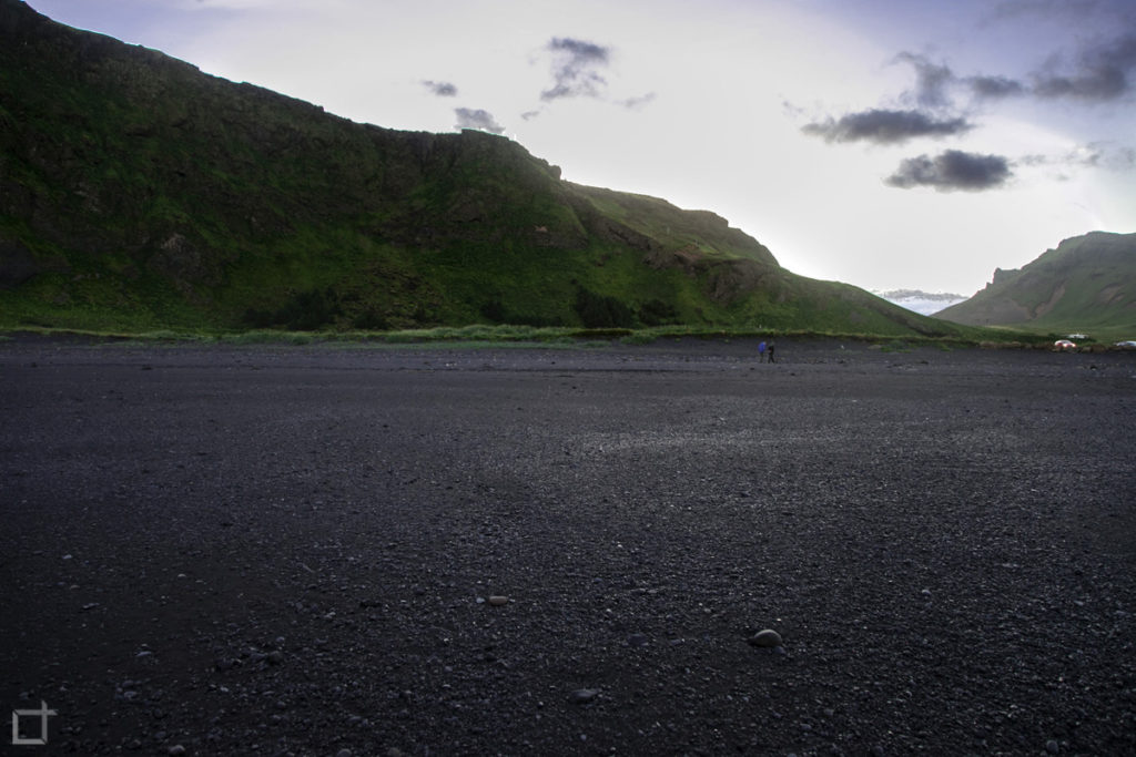 Spiaggia Nera Regione Sudurland