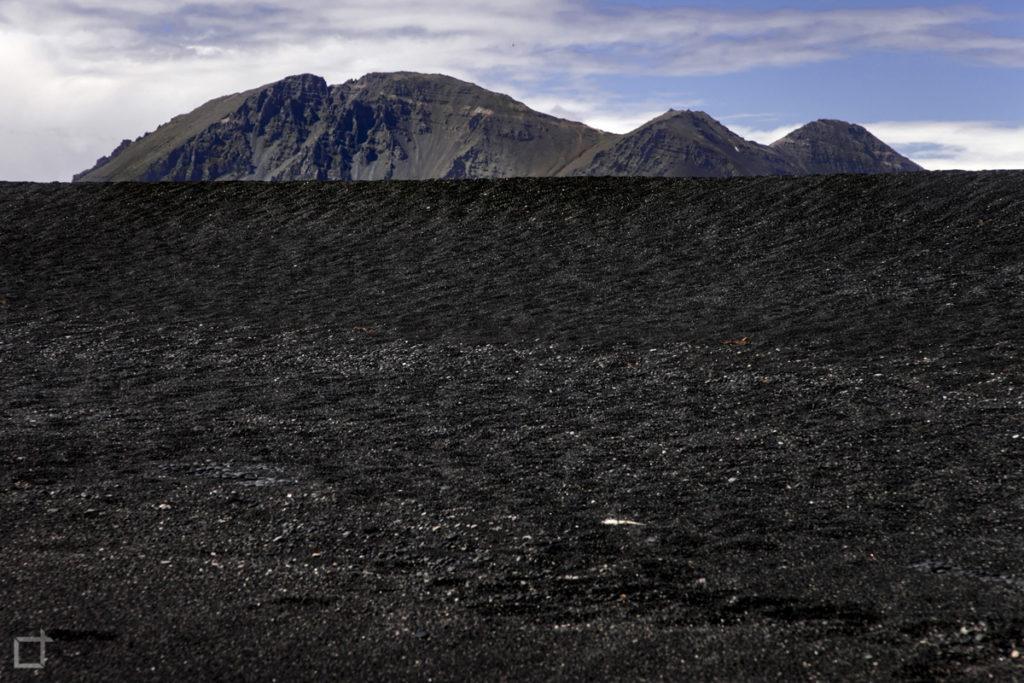 Spiaggia Nera Hvalnes Sud Est Islanda
