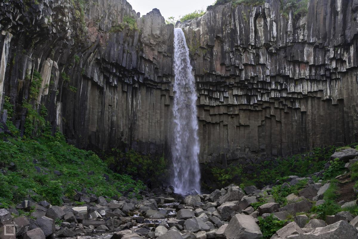 Svartifoss Cascata Islanda