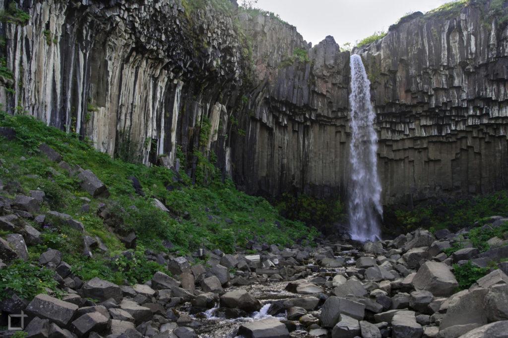 Svartifoss Waterfall in Iceland