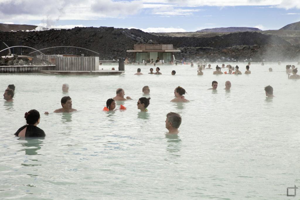 Terme con Alga Cyanobacteria Islanda
