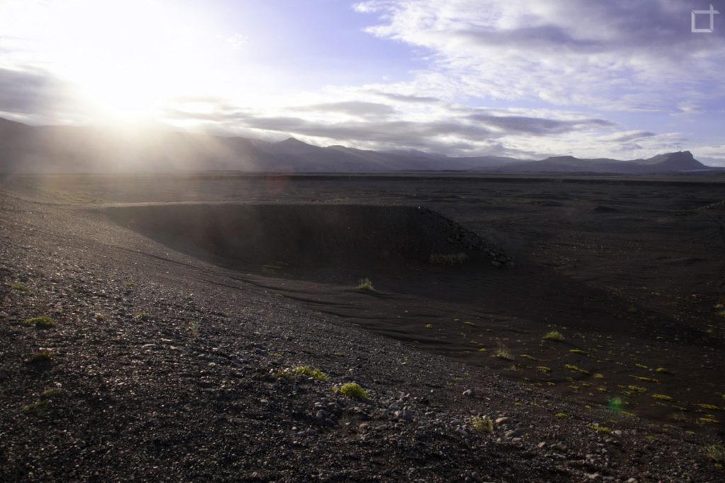 Tramonto sulla Lava dello Skaftafell