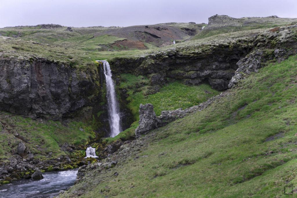 Trekking a Skogar