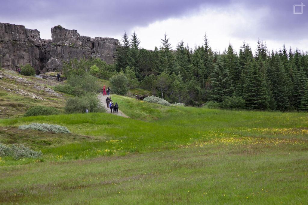Trekking a Thingvellir Antico Parlamento Islandese