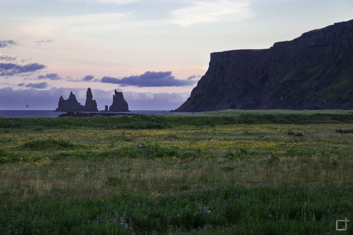 Vík í Mýrdal Spiaggia Nera Islanda