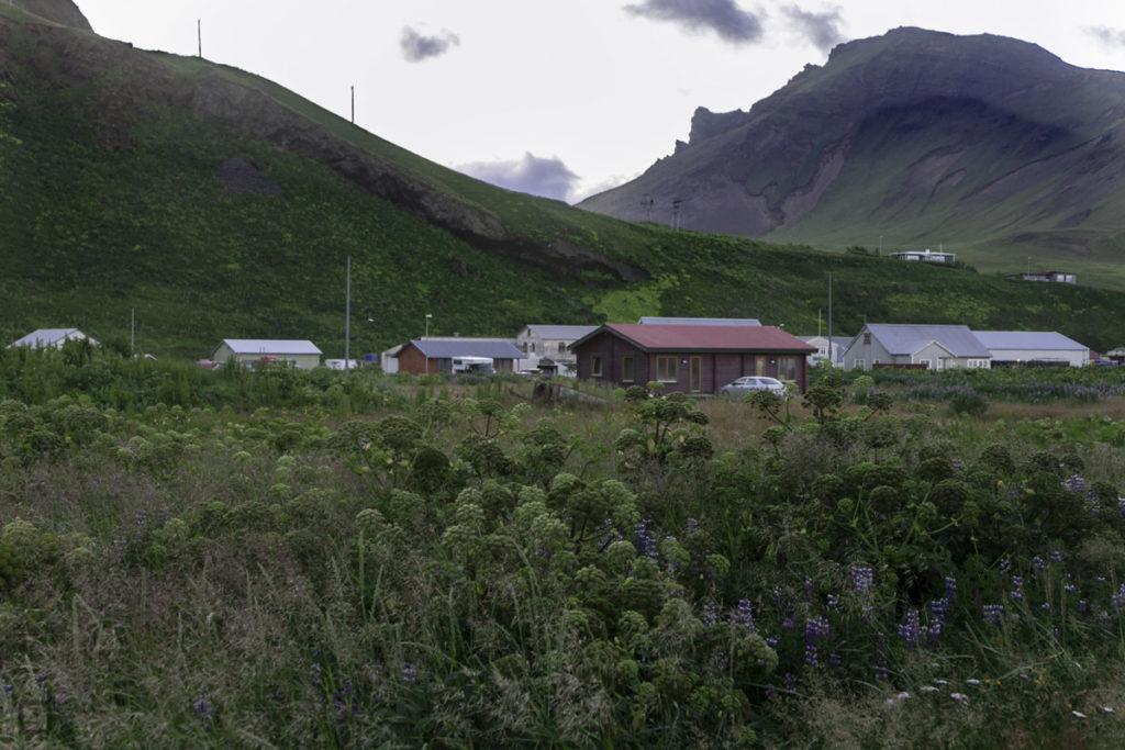 Vík í Mýrdal durante la Notte Islandese