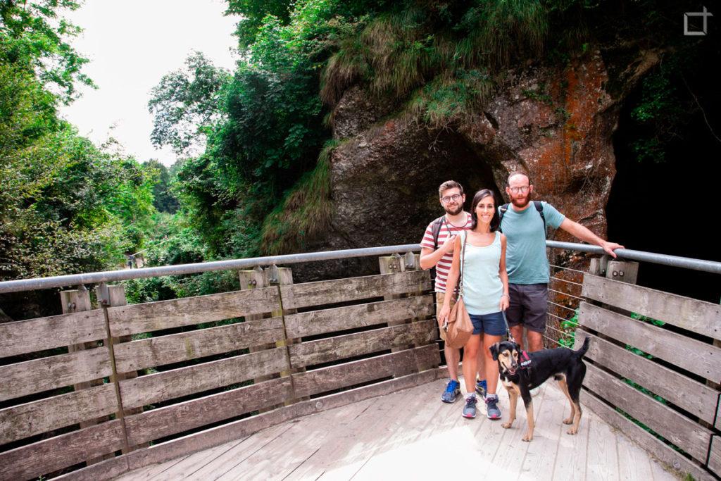 Amici Escursione Grotte del Caglieron