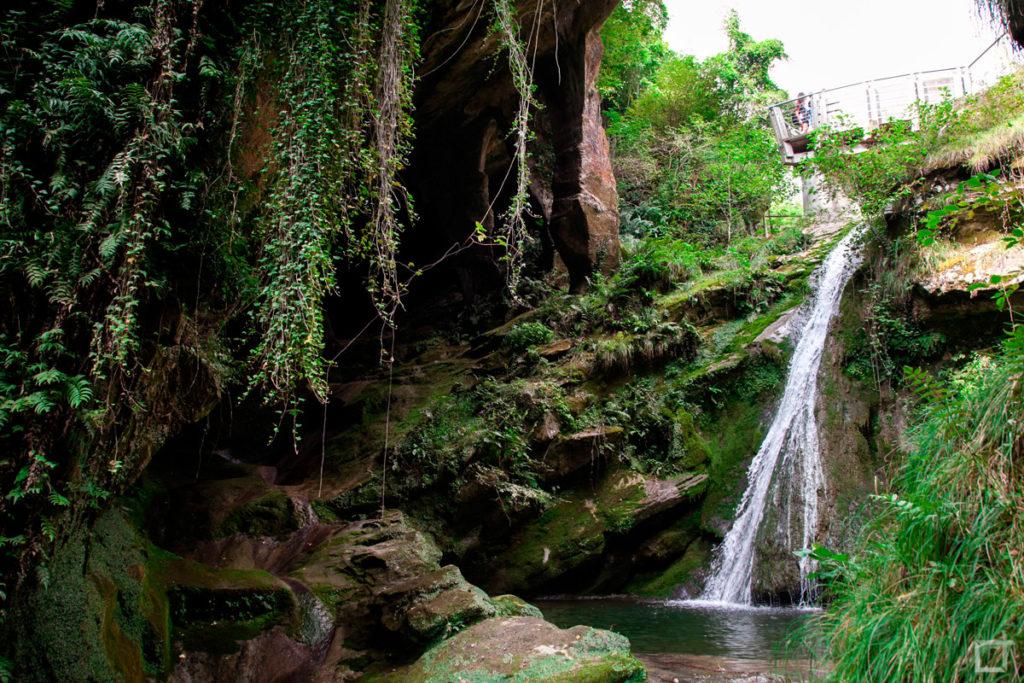Cascata Grotte del Caglieron