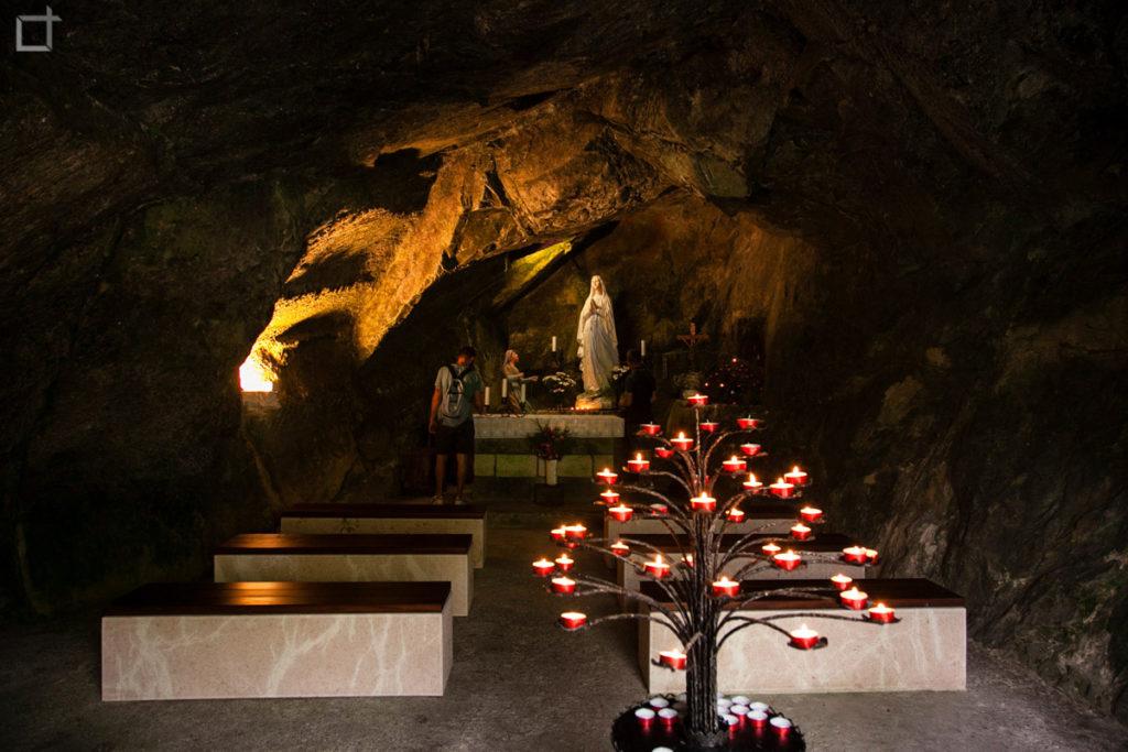 Chiesetta Grotta della Madonna - Grotta del Caglieron