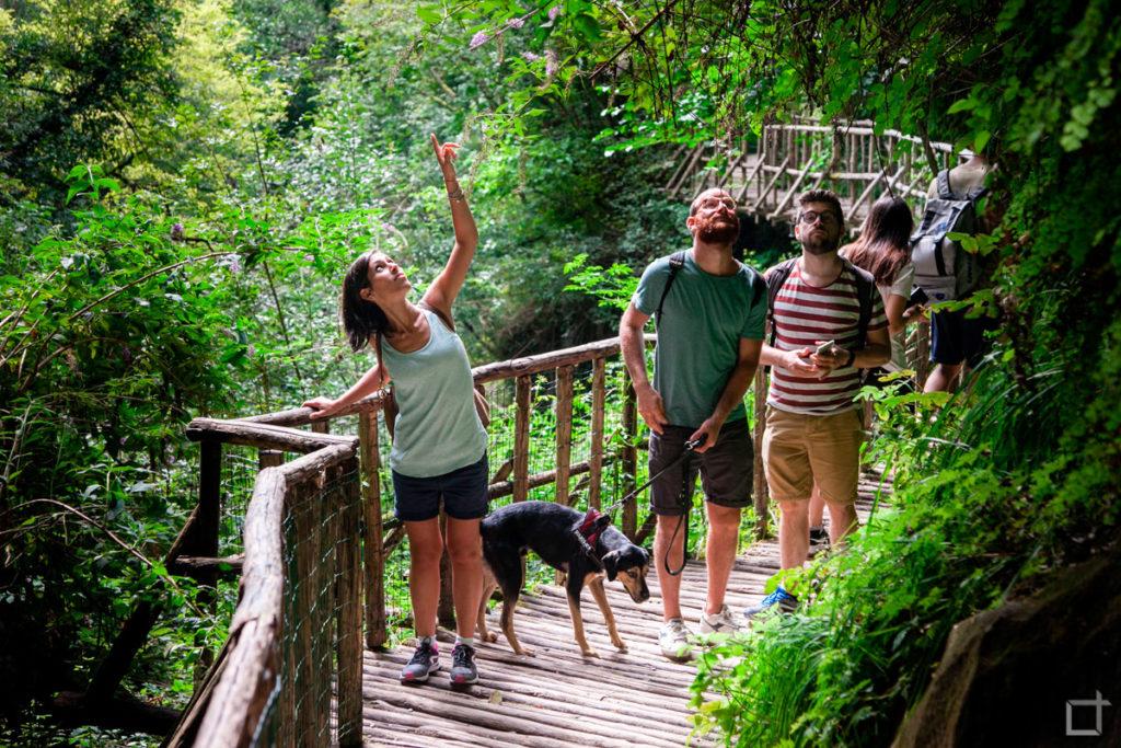 Grotte del Caglieron ingresso consentito ai cani