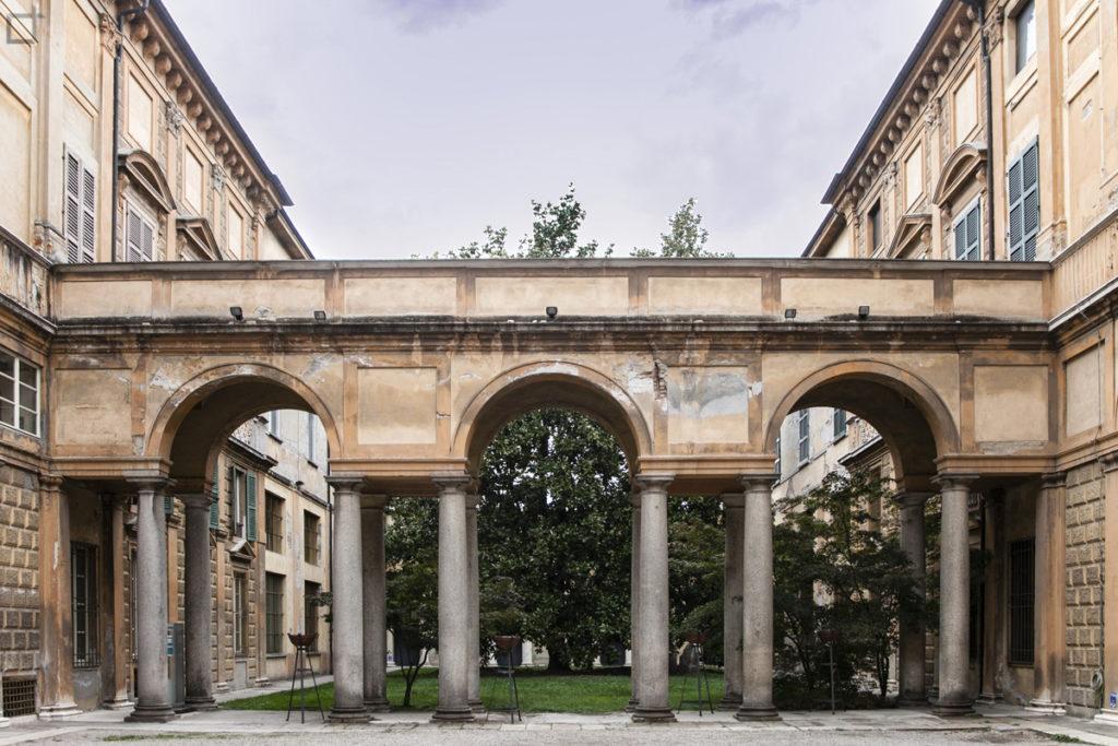 Arco corte biblioteca Statale Cremona