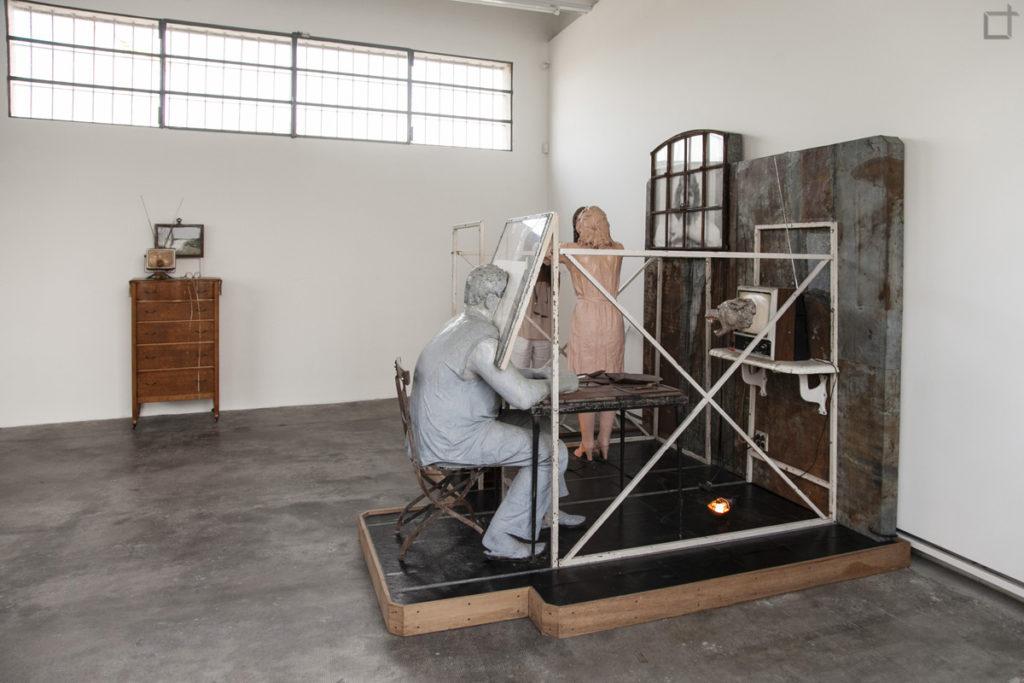 Bout Round Eleven - Edward e Nancy Reddin Kienholz - mostra Fondazione Prada Milano