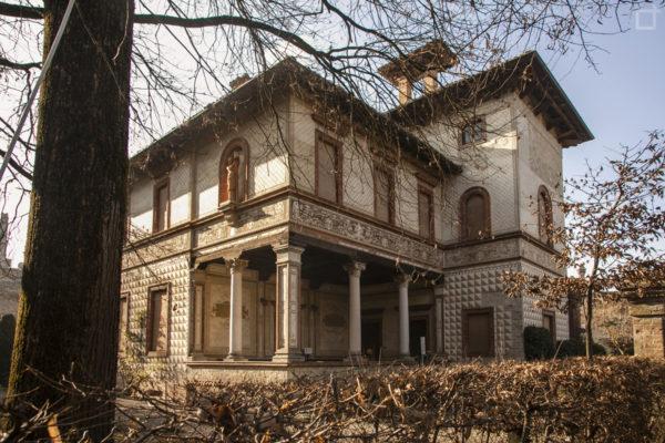 Casa con colonne